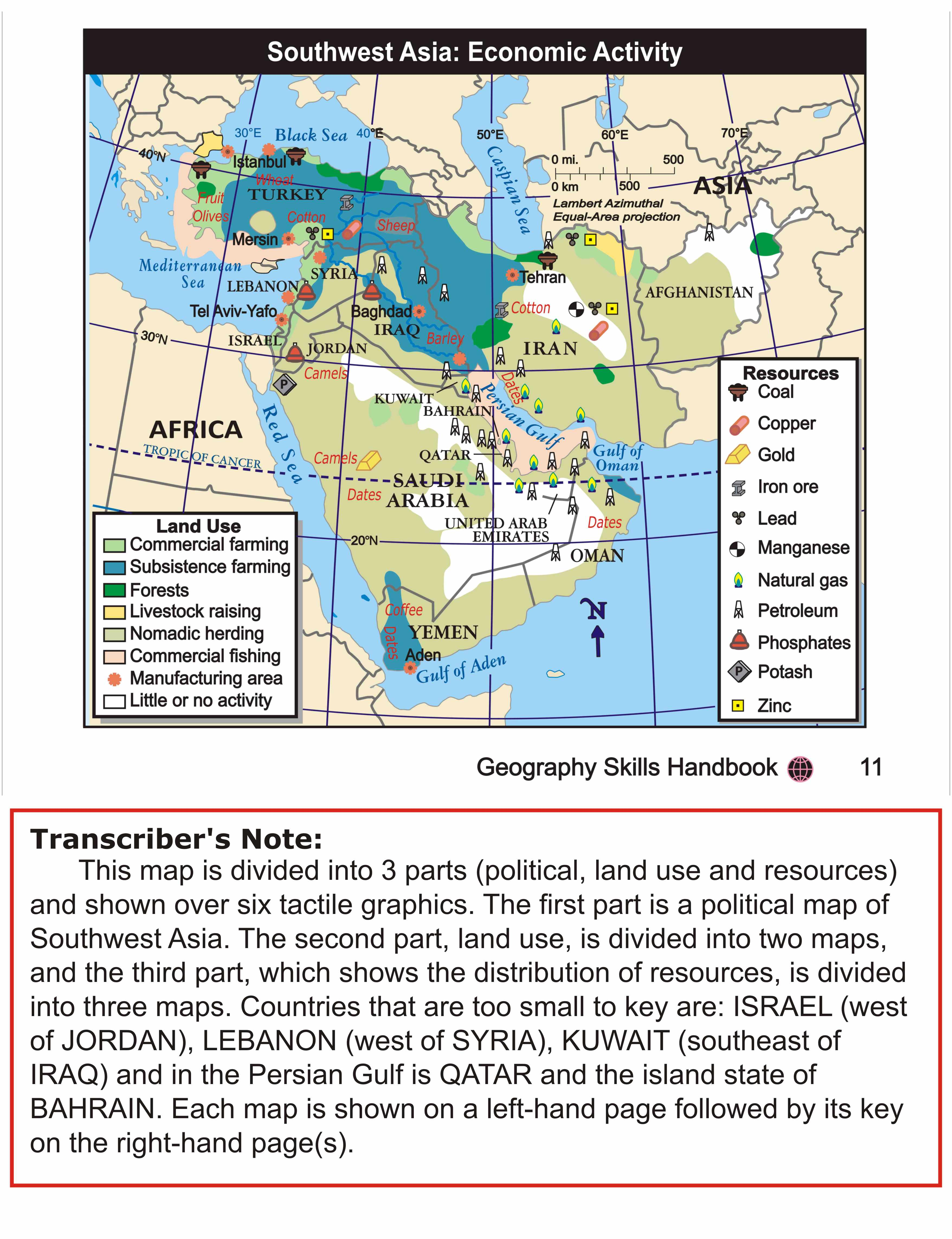 Map Of Asia Resources.Example Southwest Asia